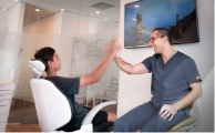 Mo Auckland Orthodontists hi five